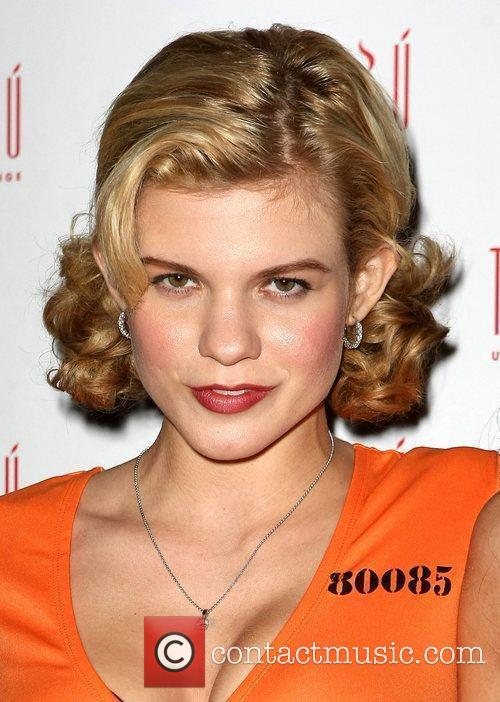 Angel McCord Annalynne McCord holds a party for...
