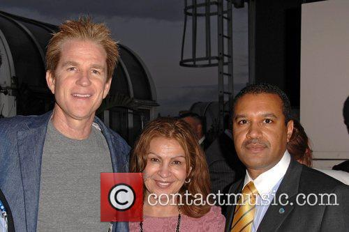 Matthew Modine and guests The MDG Awards at...