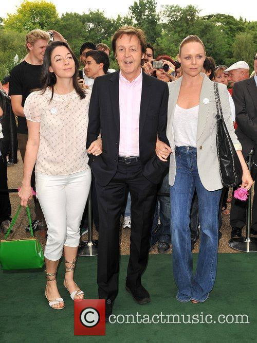 Sir Paul Mccartney and Stella Mccartney 4