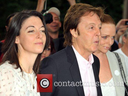Sir Paul Mccartney and Stella Mccartney 7