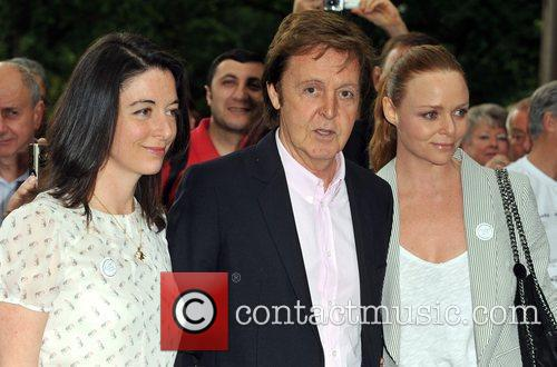 Sir Paul Mccartney and Stella Mccartney 6