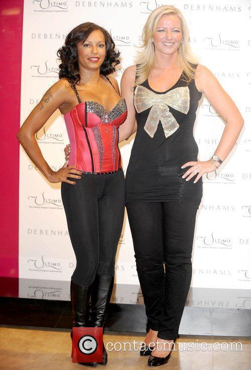 Mel B and Michelle Mone 7