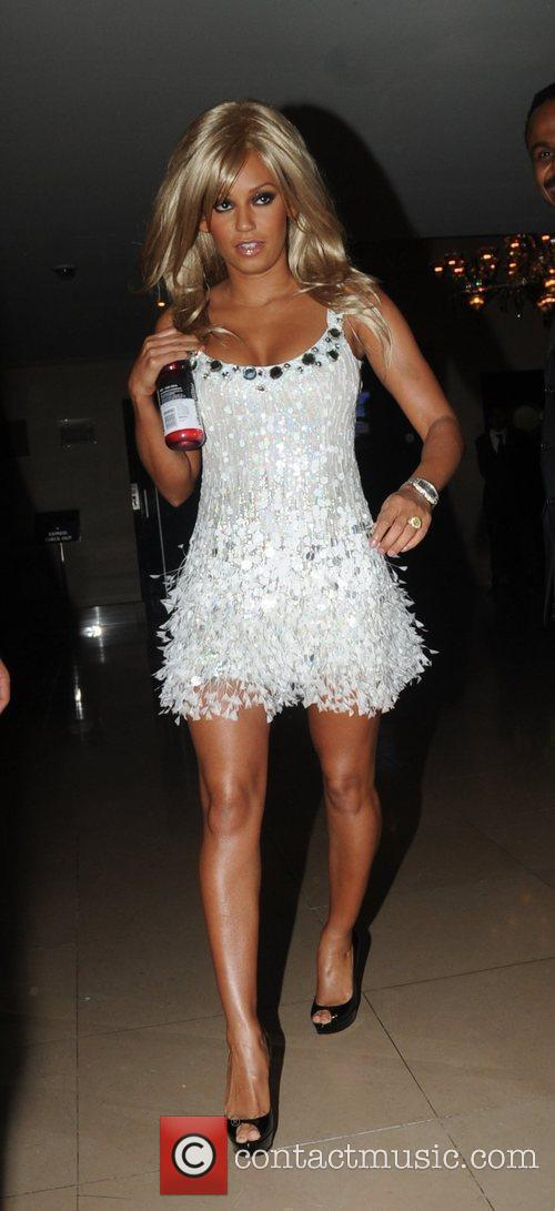 Melanie Brown aka Mel B leaving the May...