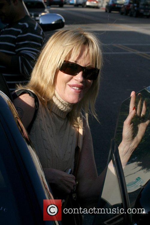 Melanie Griffith out shopping in West Hollywood Los...