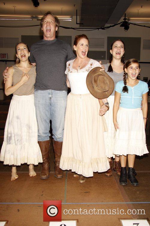 Kara Lindsay, Little House On The Prairie and Melissa Gilbert 3