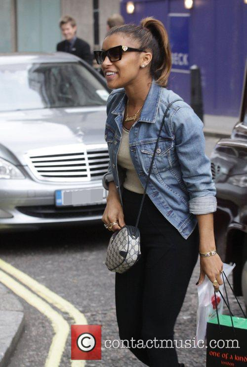 Melody Thornton of the Pussycat Dolls arriving at...