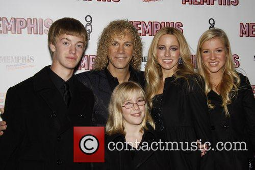 David Bryan and his family Opening Night of...