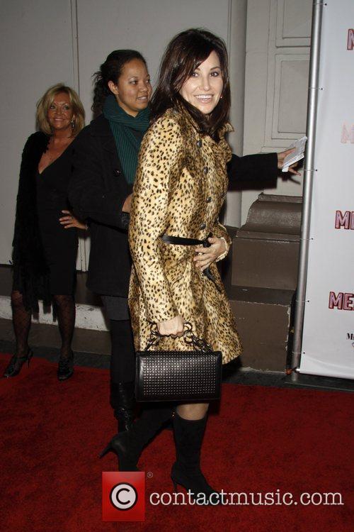 Gina Gershon Opening Night of the Broadway musical...