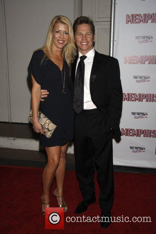 Kelly Devine and Jack Noseworthy Opening Night of...
