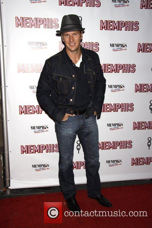 Patrick Wilson Opening Night of the Broadway musical...