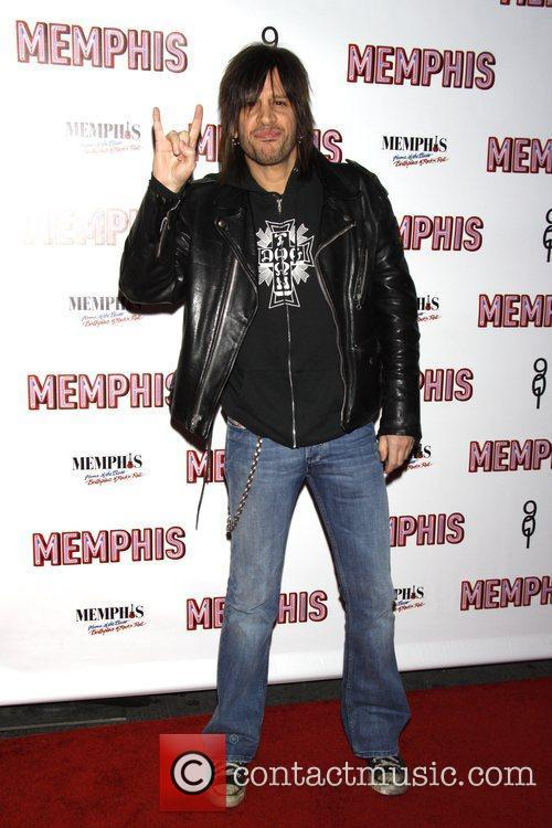 Steve West Opening Night of the Broadway musical...