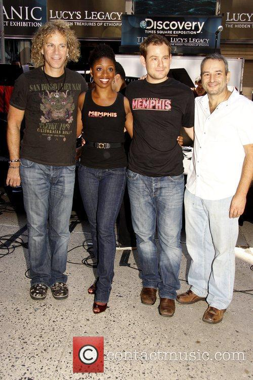 David Bryan, Montego Glover and Vh1 4