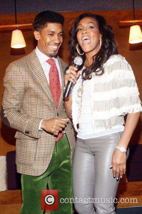 Fonzworth Bentley and Vivica A. Fox 3