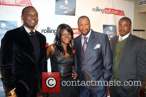 Kwame Jackson, Abiola Abrams, Munson Steed, and Chuck...
