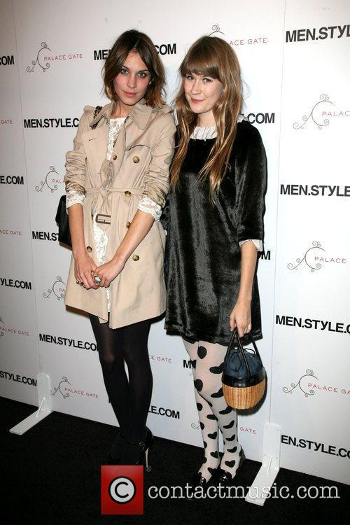 Alexa Chung and Tennessee Thomas Men.Style.Com's 3rd annual...