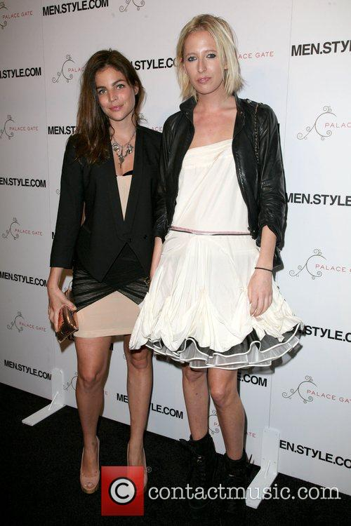 Julia Restoin-Roitfeld and guest Men.Style.Com's 3rd annual Women...