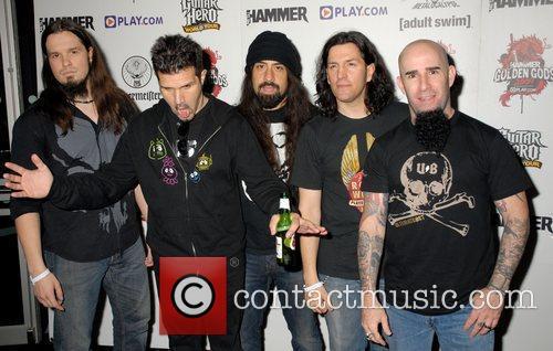 Anthrax Metal Hammer Golden Gods Awards at Indigo...