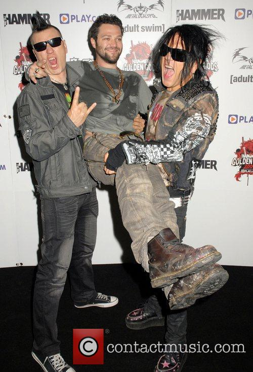 Bam Margera of Jackass arrives with The 69...