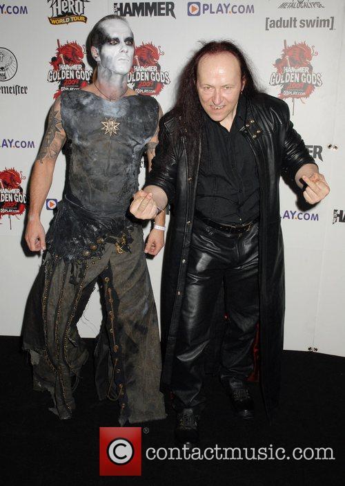 Behemoth and Venom Metal Hammer Golden Gods Awards...
