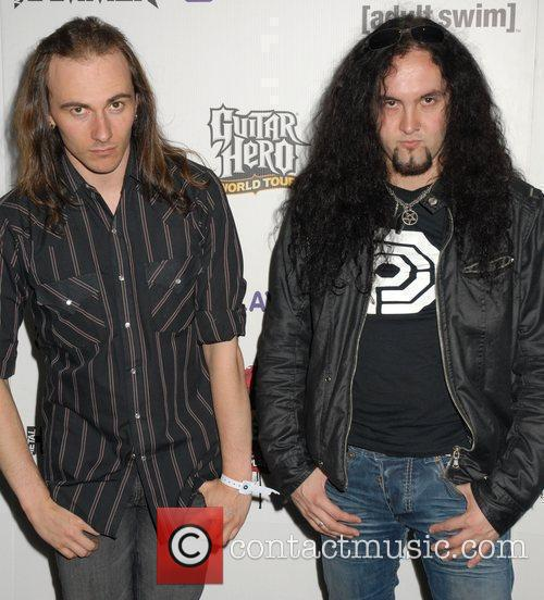 Vadim Pruzhanov and Frederic Leclercq of Dragonforce Metal...