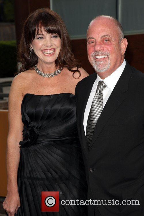 Billy Joel and Girlfriend Deborah Dampiere 1