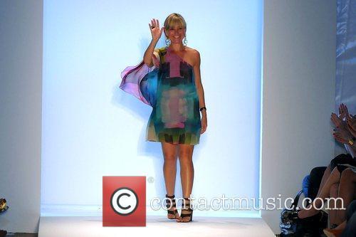 Amy Smilovic Mercedes-Benz Fashion Week Swim -TIBI swimwear...