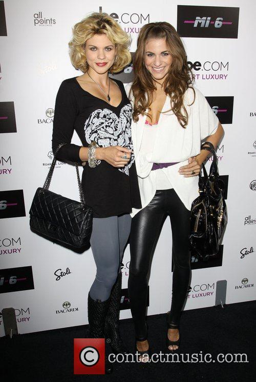 Angel and Rachel McCord Mi-6 nightclub's grand opening...