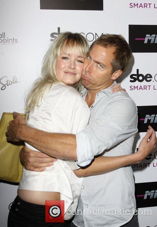 Dave England with Girlfriend
