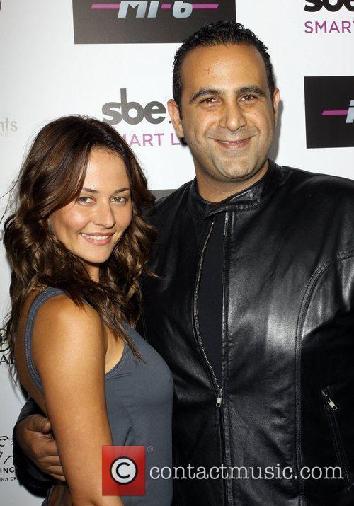 Marina Kabisher and Sam Nazarian Mi-6 nightclub's grand...