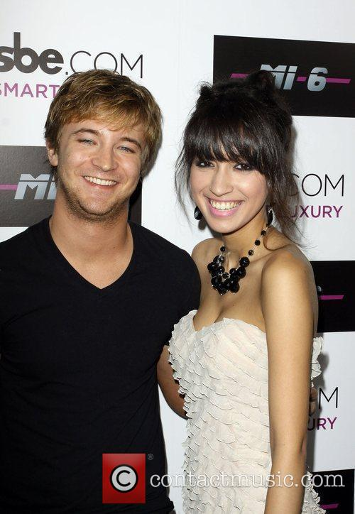 Michael Welch and Christian Serratos Mi-6 nightclub's grand opening party held at Mi-6 nightclub