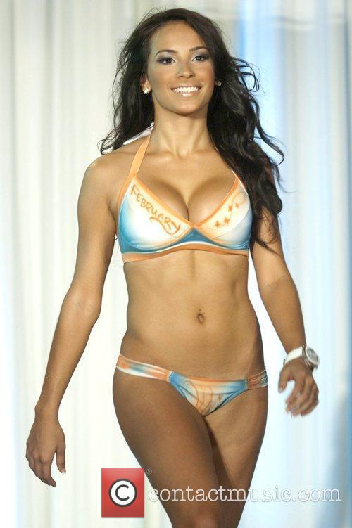 Miami Dolphins Cheerleaders Unveil 2010 Swimsuit Calendar with...