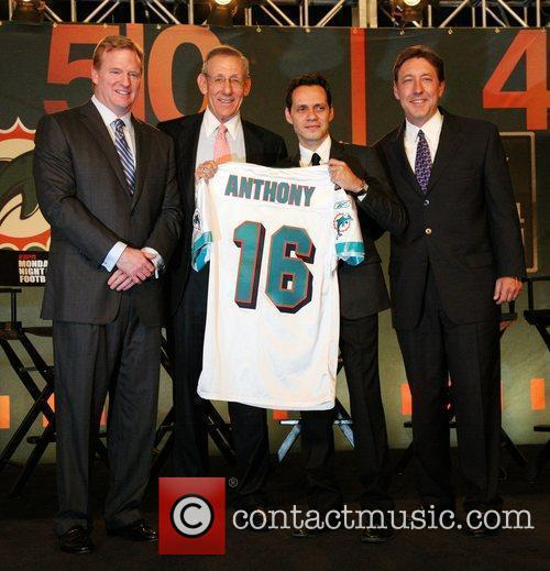 NFL Commissioner Roger Goodell, Miami Dolphins owner Stephen...