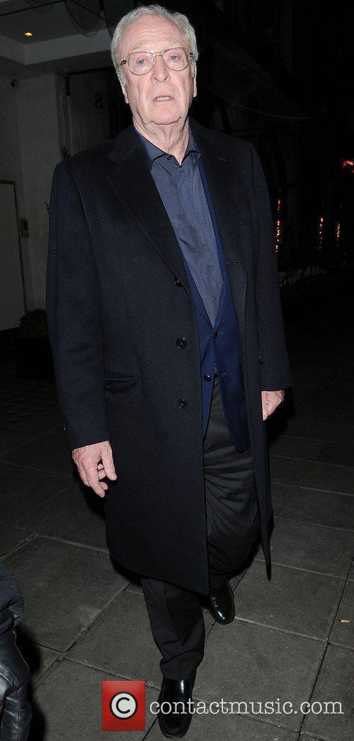 Michael Winner leaving Scott's restaurant London, England