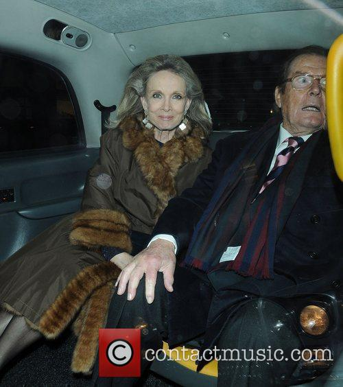 Roger Moore and Kristina Tholstrup 2