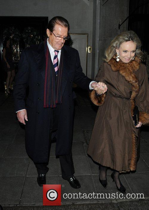 Roger Moore and Kristina Tholstrup 6