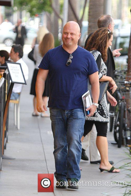 'The Shield' star Michael Chiklis out and about...
