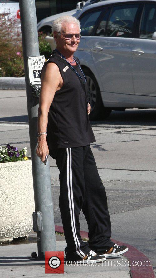 Runs some errands in West Hollywood