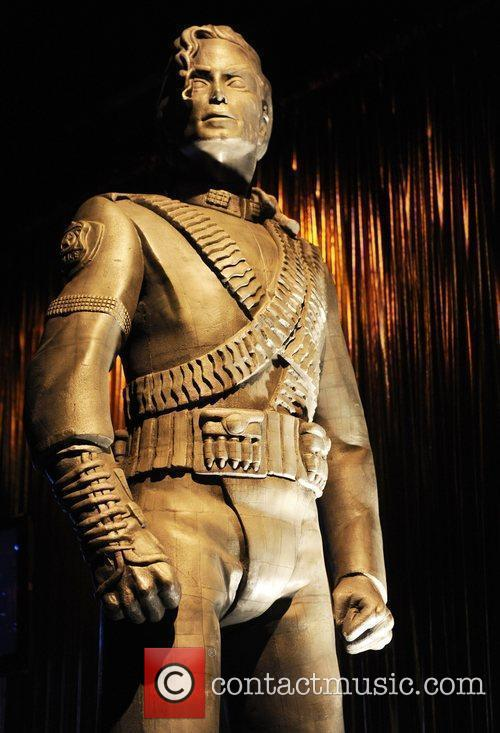 Statue Michael Jackson's This Is It Exhibition...