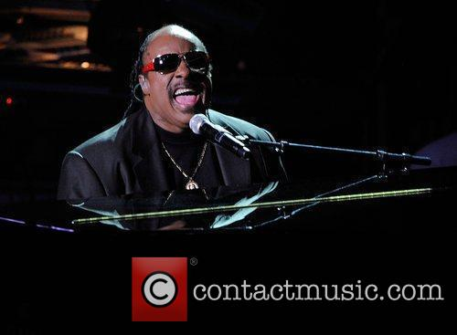 Stevie Wonder  The memorial service for the...