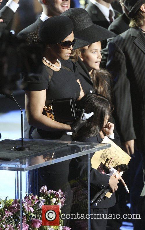 Janet Jackson  The memorial service for the...