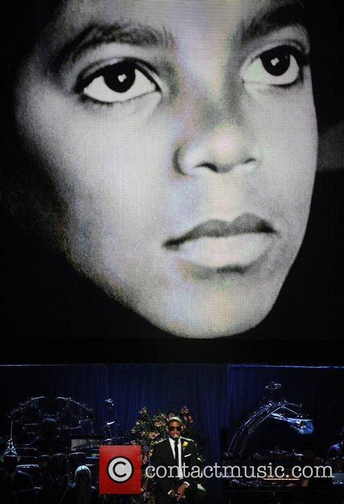 Michael Jackson  The memorial service for the...