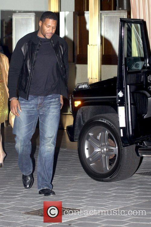 Michael Strahan former American football for the New...