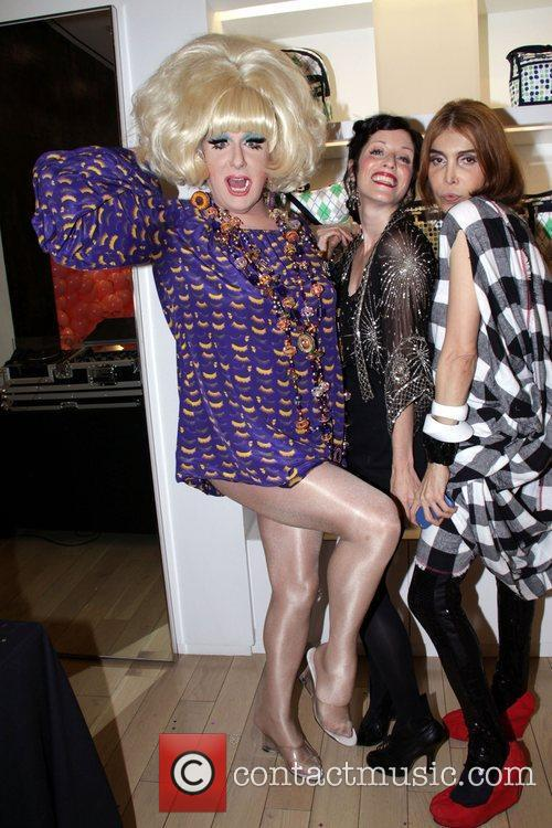 Lady Bunny, Sarah Sophie and Sophia La Mar...