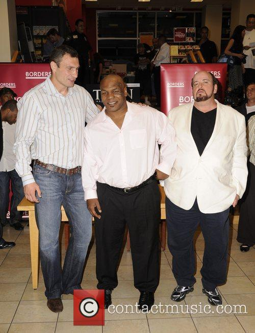 Vitali Klitschko, Mike Tyson and Director James Toback...