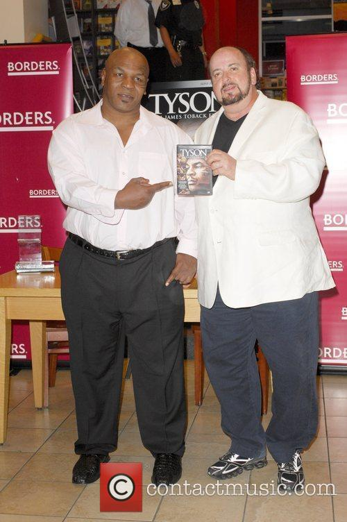 Mike Tyson, Director James Toback Signing Copies Of The Blu-ray, Dvd 'tyson' At Borders Sunset and Vine 6