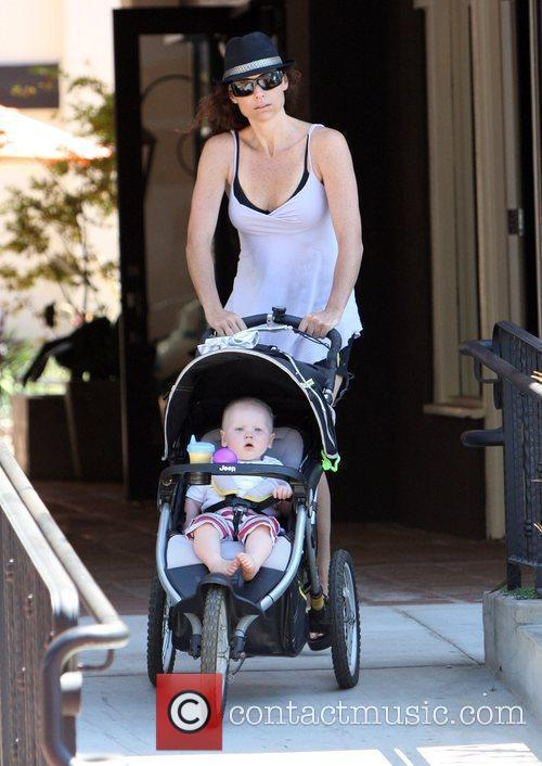 Minnie Driver and Son Henry 3