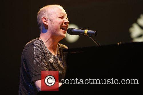 Isaac Slade The Fray perform live in concert...