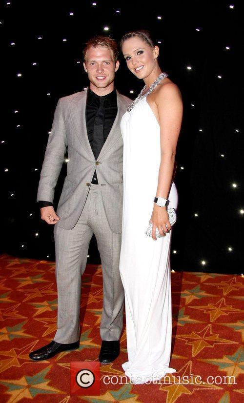 Chris Fountain and Danielle Lloyd Miss England 2009...