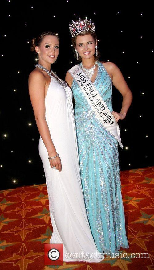 Danielle Lloyd and Laura Coleman, Miss England 2008...