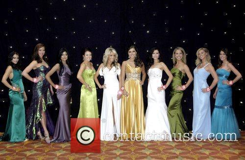 Contestants Miss England 2009 Final held at the...